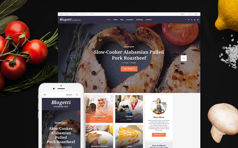 Culinary Blog WordPress Theme
