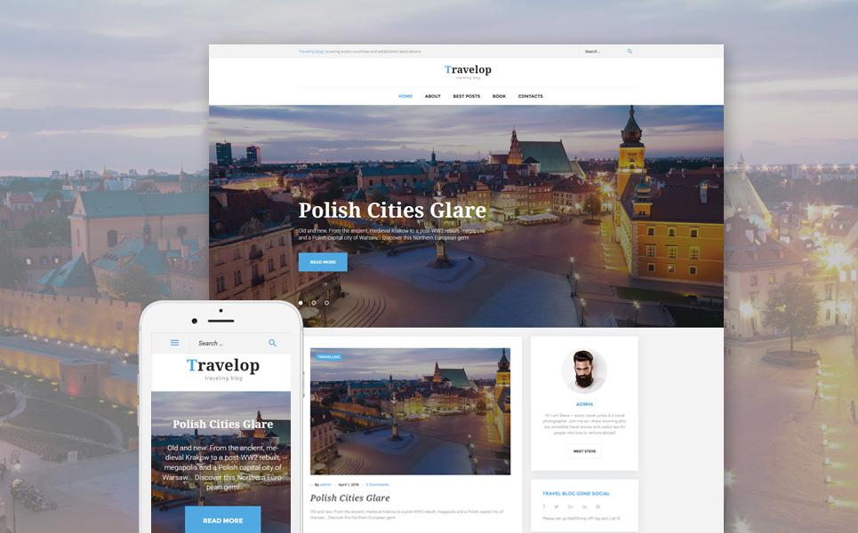 Urban Trips WordPress Theme