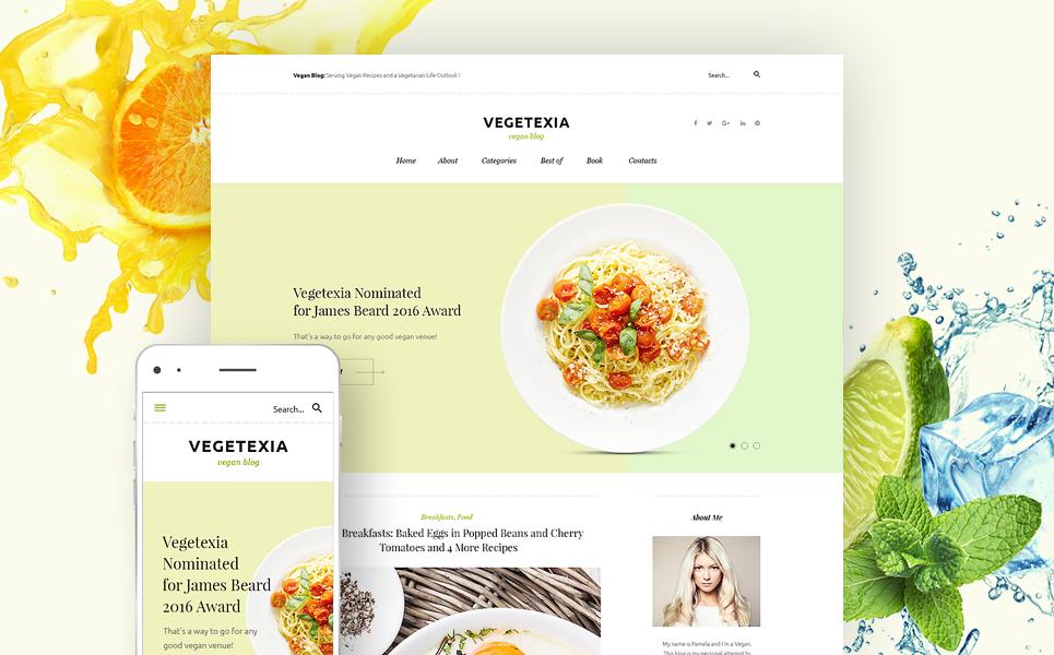 Veggie Food WordPress Theme