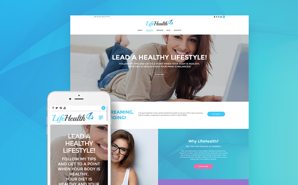 Well-Being Coach WP Theme