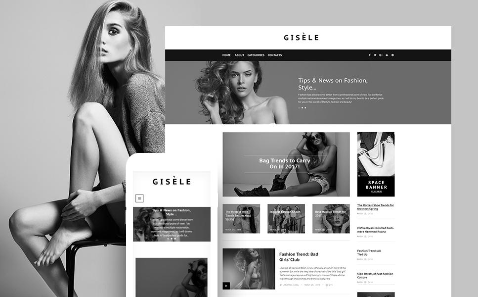 Fashion Design Blog WP Theme