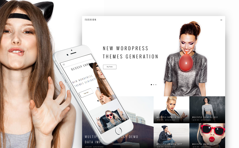 Style and Fashion Blog WordPress Theme