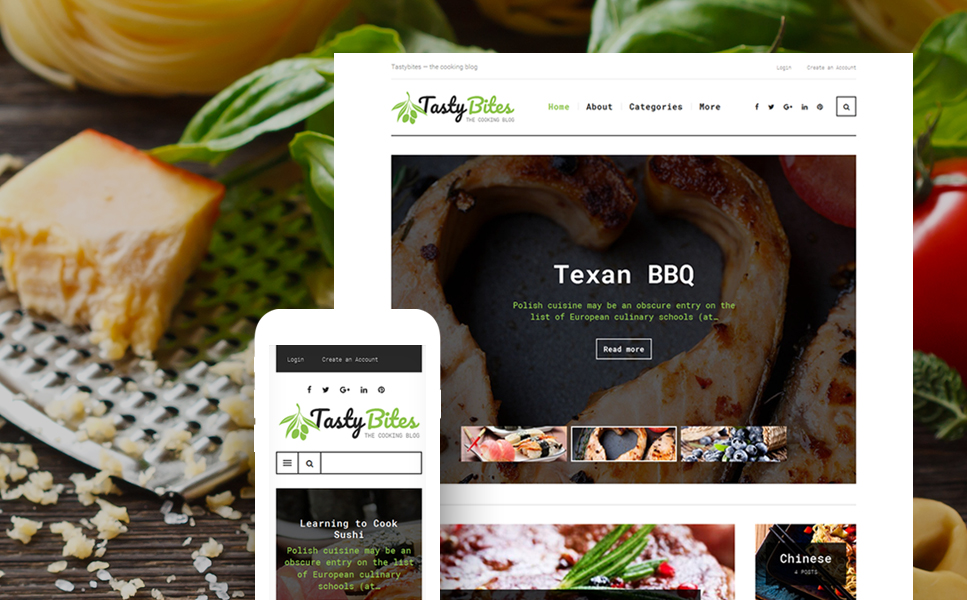 Food and Drinks WP Theme