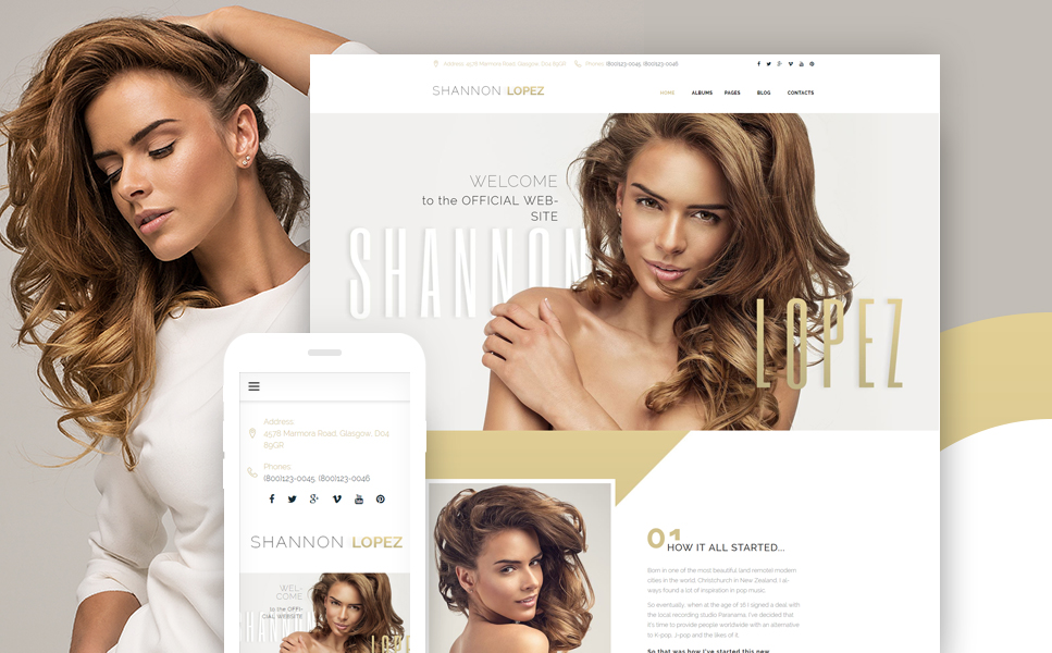 Head-Liner Responsive WP Theme