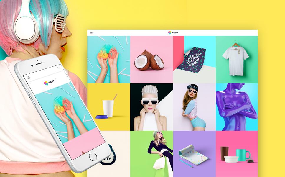 Designer Portfolio WordPress Theme