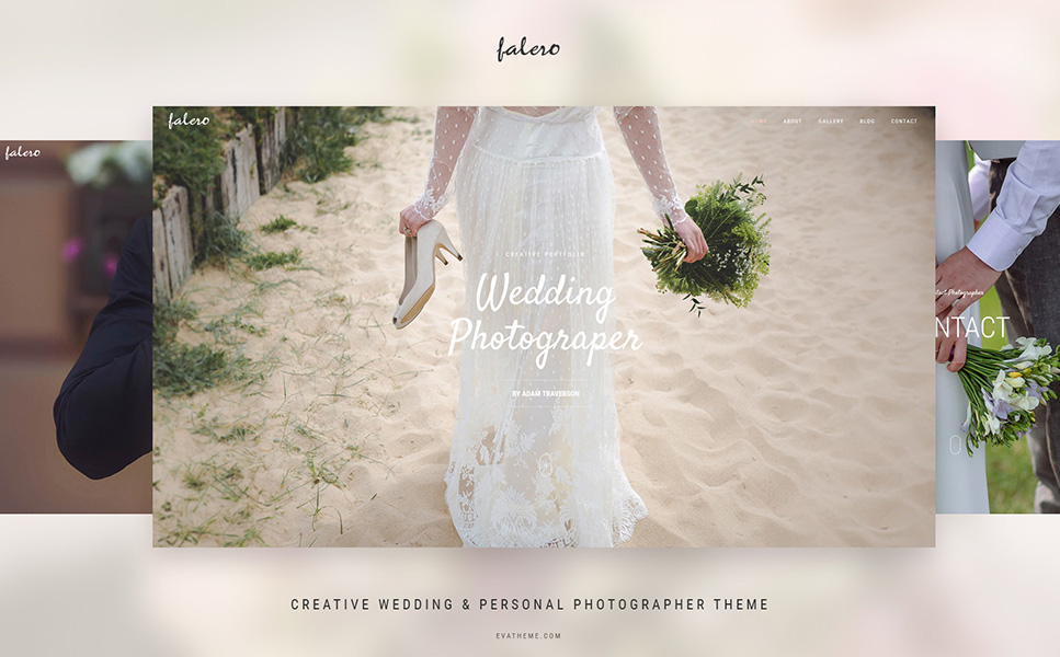 Bridal Photographer WordPress Theme