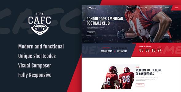Conquerors | American Football Club