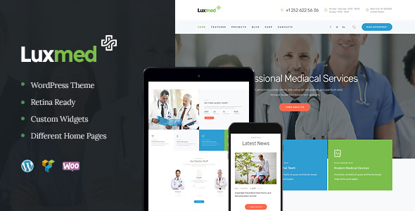 LuxMed | Medicine & Healthcare WP Theme
