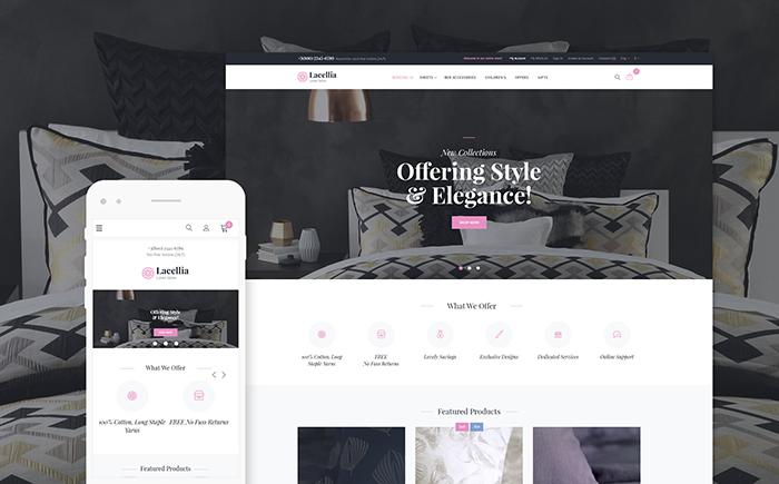 Linen Shop Magento 2 Theme