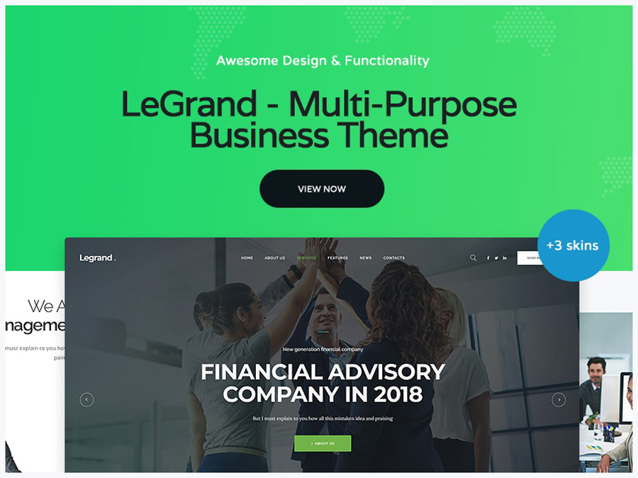 LeGrand | Multi-Purpose Business Theme