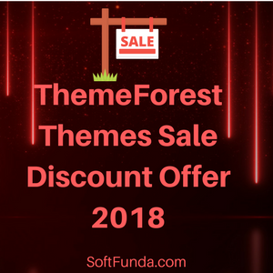 ThemeForest Themes Sale Discount Offer 2018