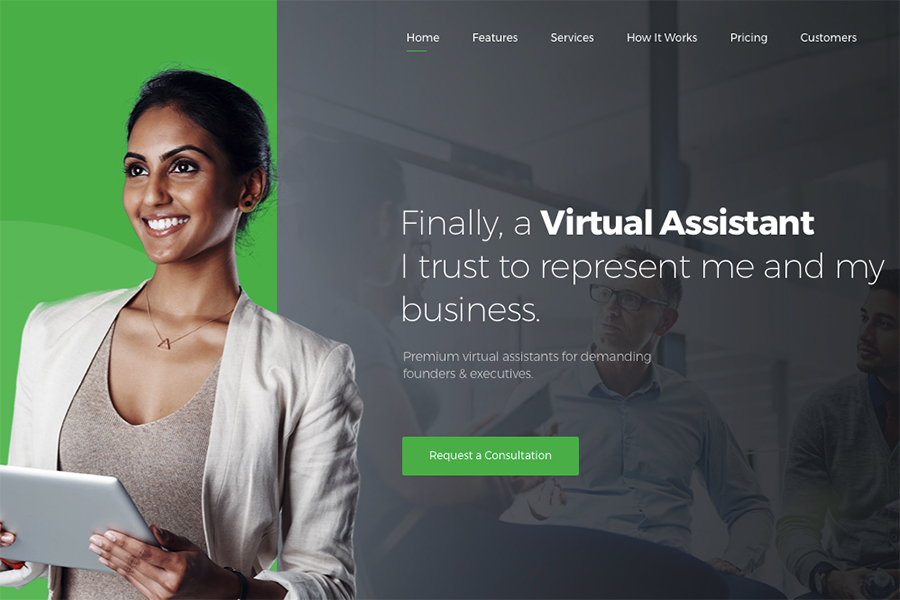 Revirta | Virtual Assistant WordPress Theme